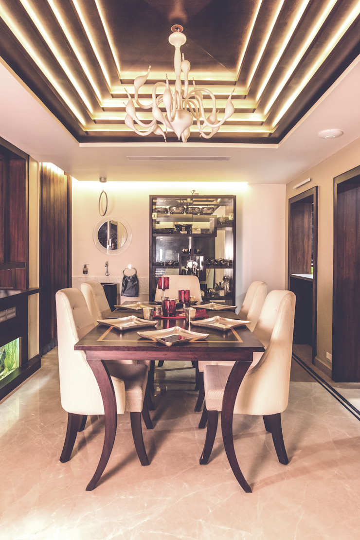 CASA SONAS Modern dining room by CARTWHEEL Modern