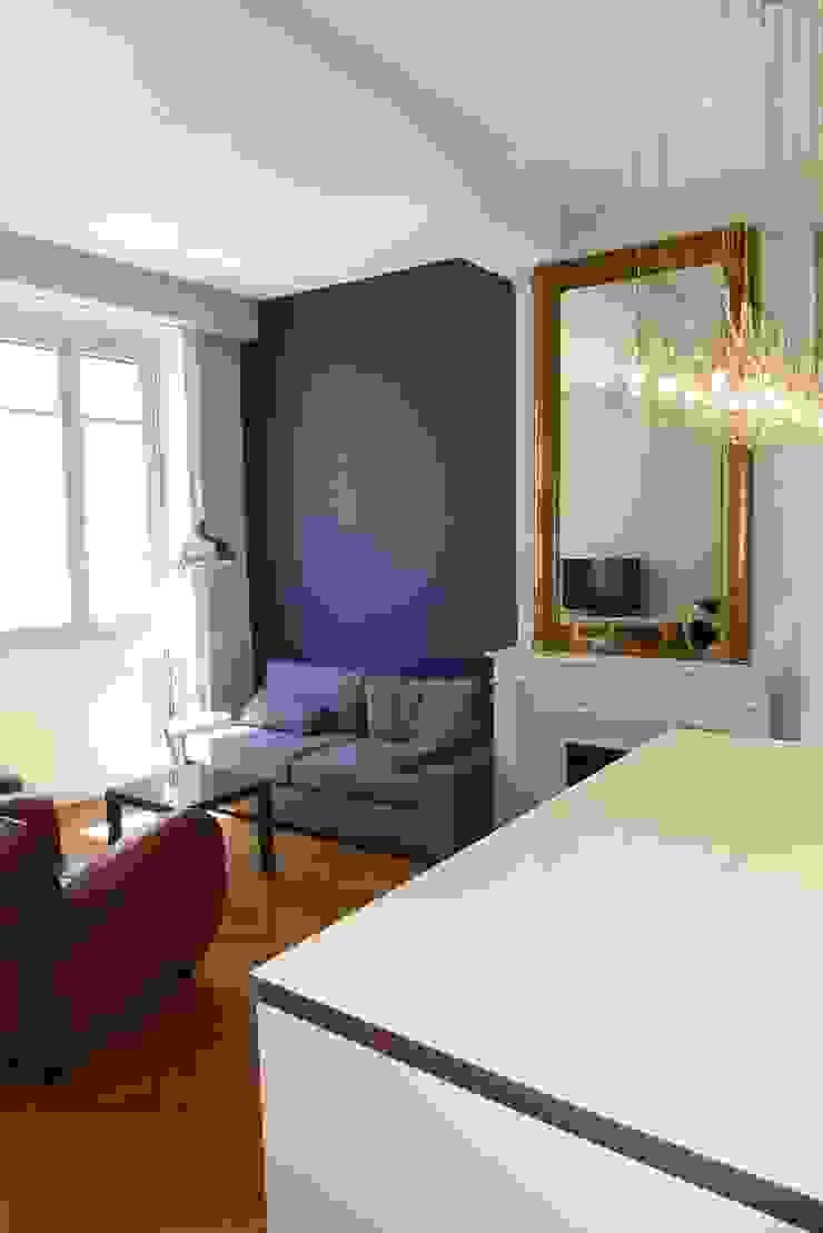 Cuisine Séparée Du Salon appartement 55 m2 par rb concept | homify