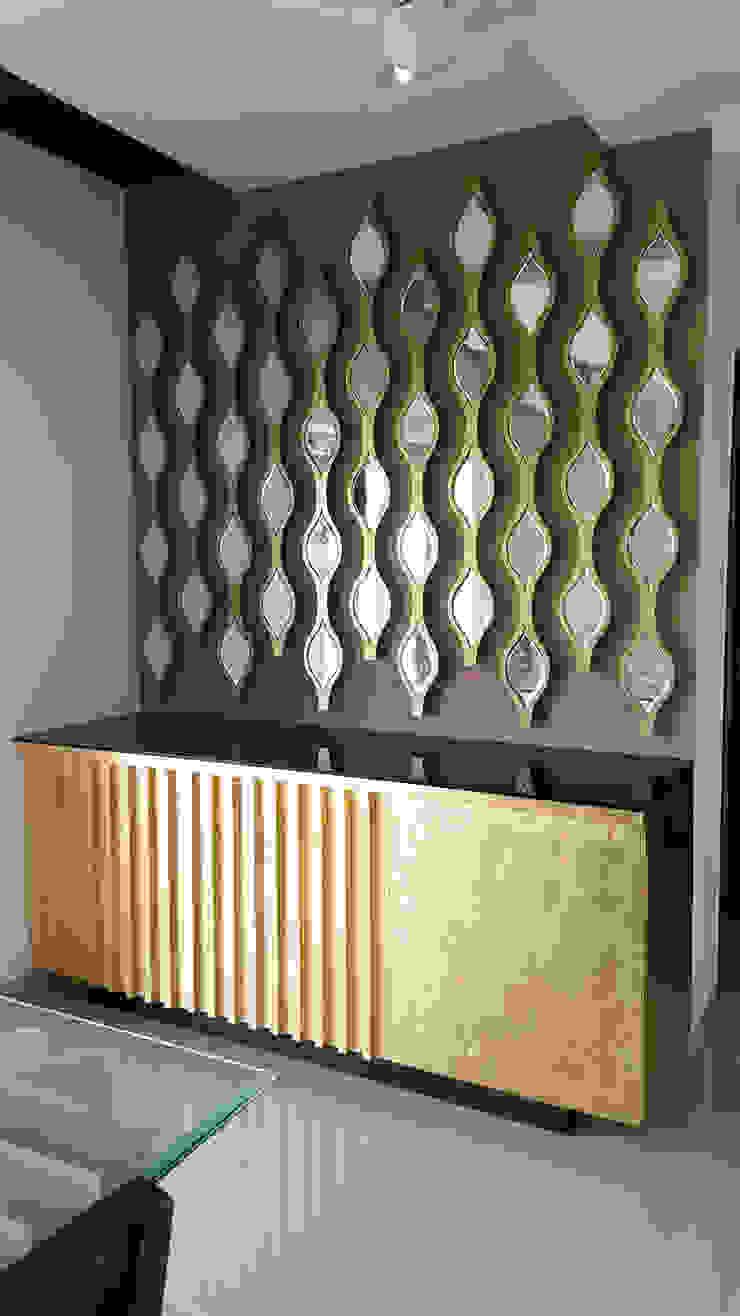 SANDEEP RESIDENCE Modern walls & floors by CARTWHEEL Modern