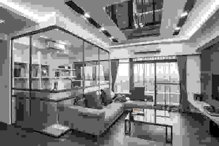 Livings de estilo  por 唐御品空間設計