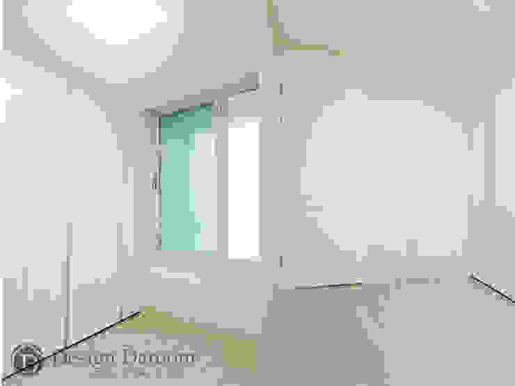 용두동 신동아 아파트 안방 모던스타일 미디어 룸 by Design Daroom 디자인다룸 모던