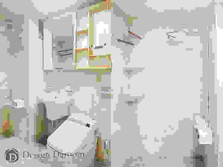 용두동 신동아 아파트 욕실 모던스타일 욕실 by Design Daroom 디자인다룸 모던