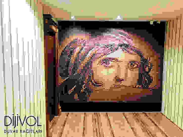 Paredes y suelos de estilo clásico de Dijivol Duvar Kağıtları Clásico