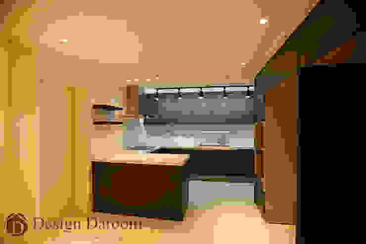 광장동 현대홈타운 12차 55평형 주방 모던스타일 주방 by Design Daroom 디자인다룸 모던