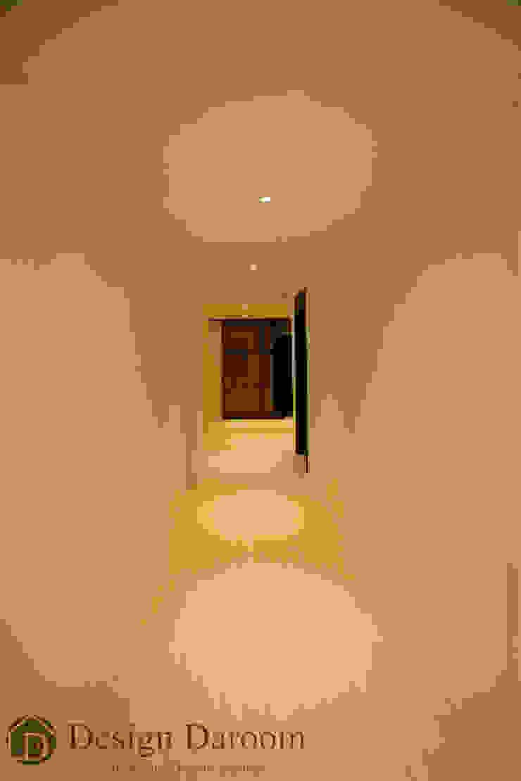 광장동 현대홈타운 12차 55평형 복도 모던스타일 복도, 현관 & 계단 by Design Daroom 디자인다룸 모던