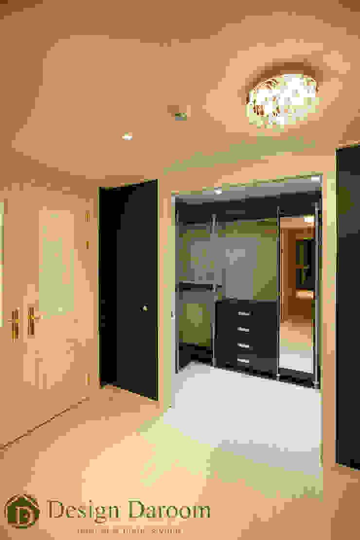 광장동 현대홈타운 12차 55평형 드레스룸 모던스타일 드레싱 룸 by Design Daroom 디자인다룸 모던