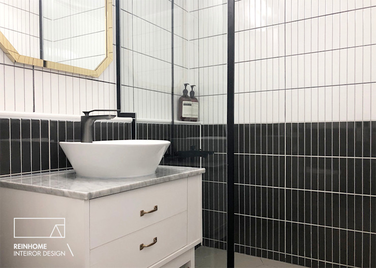울산시 울주군 38평 인테리어 모던스타일 욕실 by 리인홈인테리어디자인스튜디오 모던