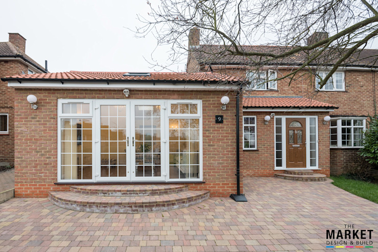 Extension In Taplow Modern houses by The Market Design & Build Modern