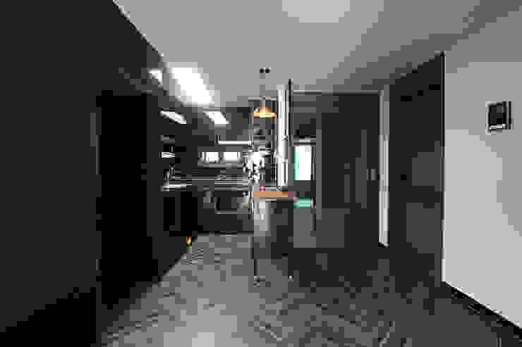 평택시 이충동 20평 인테리어 모던스타일 주방 by 한 인테리어 디자인 모던