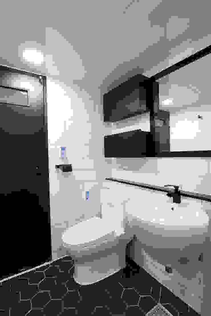 평택시 이충동 20평 인테리어 모던스타일 욕실 by 한 인테리어 디자인 모던