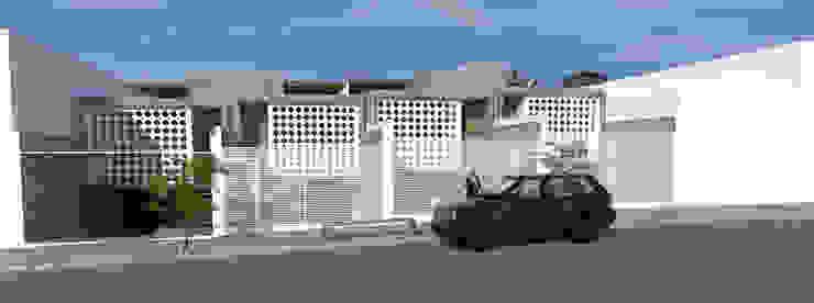Fachadas com Cobogós e Vidro por Thiago Lima Arquiteto Moderno