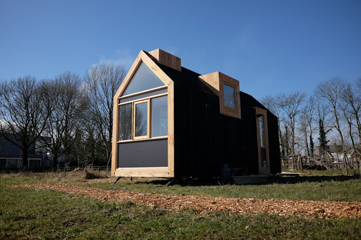 Tiny House Noordgevel: modern  door Studio D8, Modern
