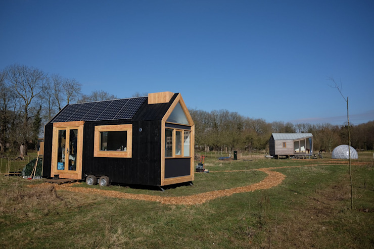 Tiny House Standplaats: modern  door Studio D8, Modern