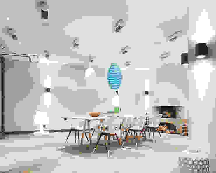 Exponierte Unternehmervilla in Bestlage - Gesellschaft Moderne Esszimmer von Tschangizian Home Staging & Redesign Modern