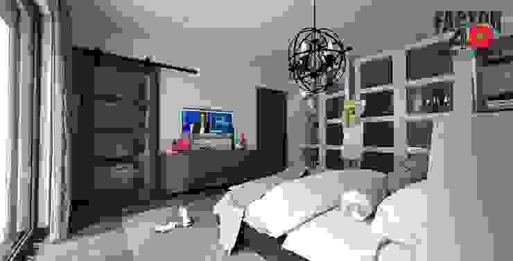Factor4D - Arquitetura, Engenharia & Construção Modern Bedroom