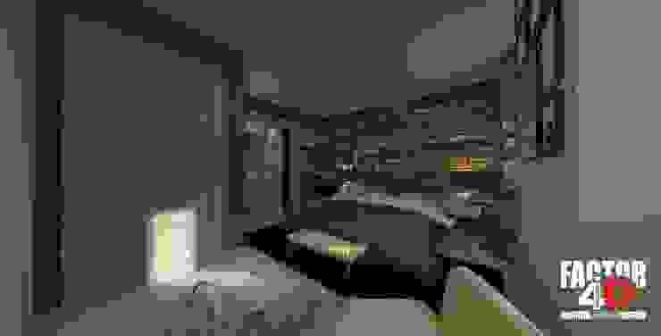 Interior#002 Quartos clássicos por Factor4D - Arquitetura, Engenharia & Construção Clássico