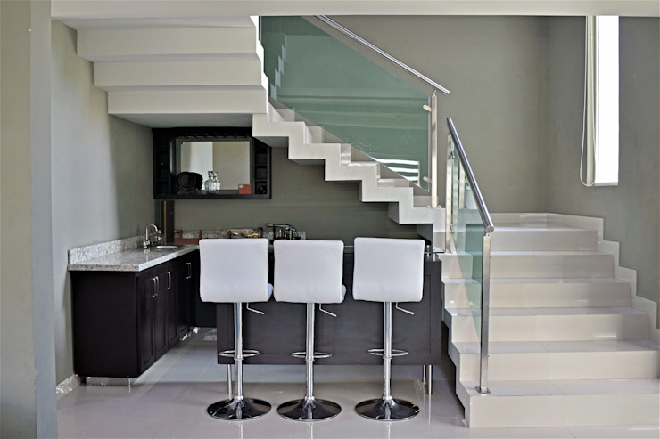 Stairs by GBQ Arquitectos,
