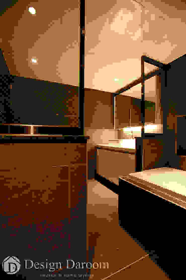 광장동 현대홈타운 12차 55평형 안방욕실 모던스타일 욕실 by Design Daroom 디자인다룸 모던