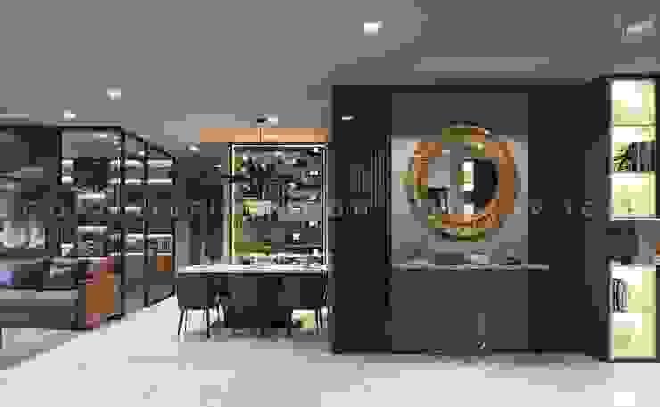 Vinhomes Central Park – Park 2 Phòng ăn phong cách hiện đại bởi ICON INTERIOR Hiện đại