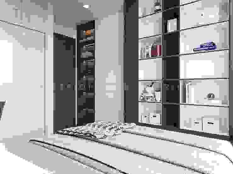 Vinhomes Central Park – Park 2 Phòng ngủ phong cách hiện đại bởi ICON INTERIOR Hiện đại