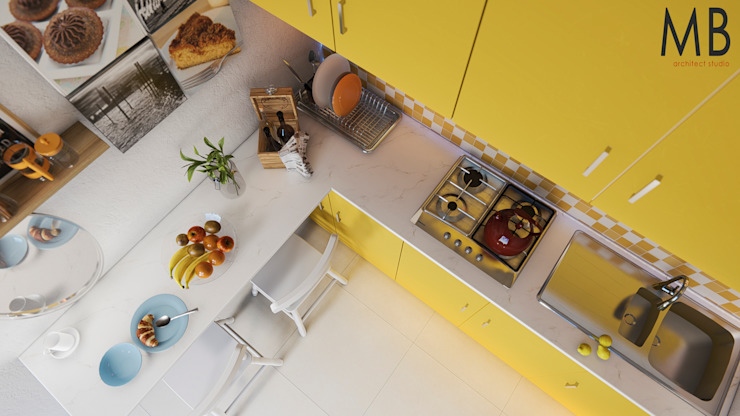 Yellow Kitchen de MIB Studio
