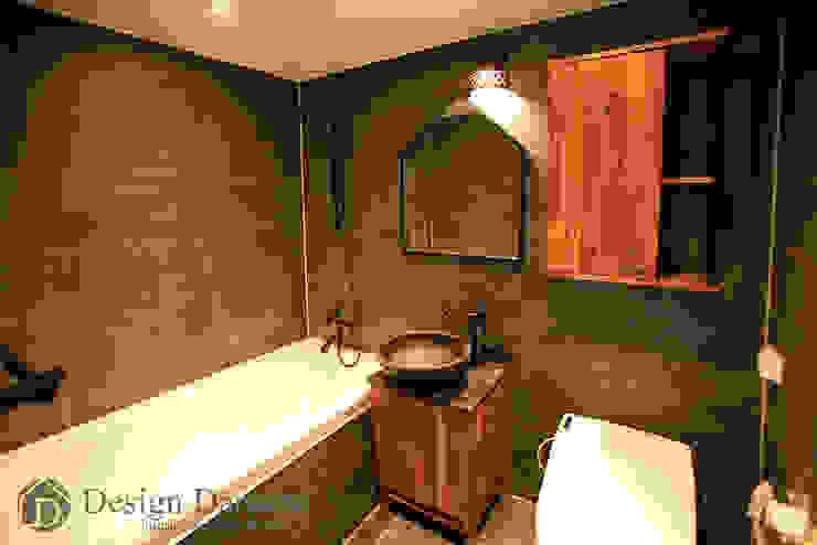 암사동 한강포스파크 아파트 거실욕실 러스틱스타일 욕실 by Design Daroom 디자인다룸 러스틱 (Rustic)