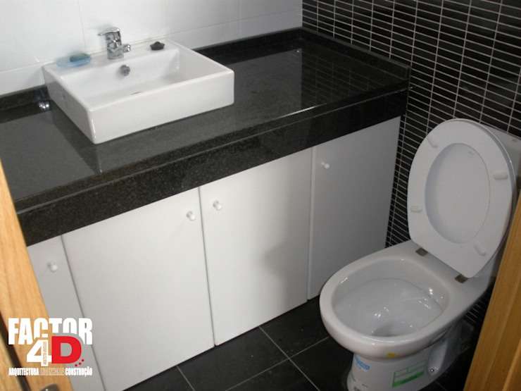 Modern bathroom by Factor4D - Arquitetura, Engenharia & Construção Modern