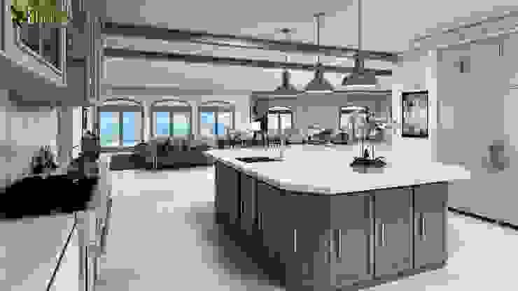 Interior Design For Beach Home Yantram Architectural Design Studio Inbouwkeukens Beton Grijs