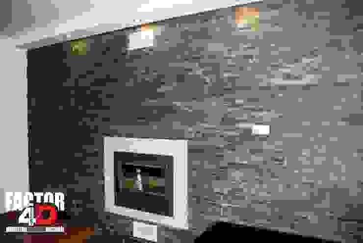 Modern living room by Factor4D - Arquitetura, Engenharia & Construção Modern