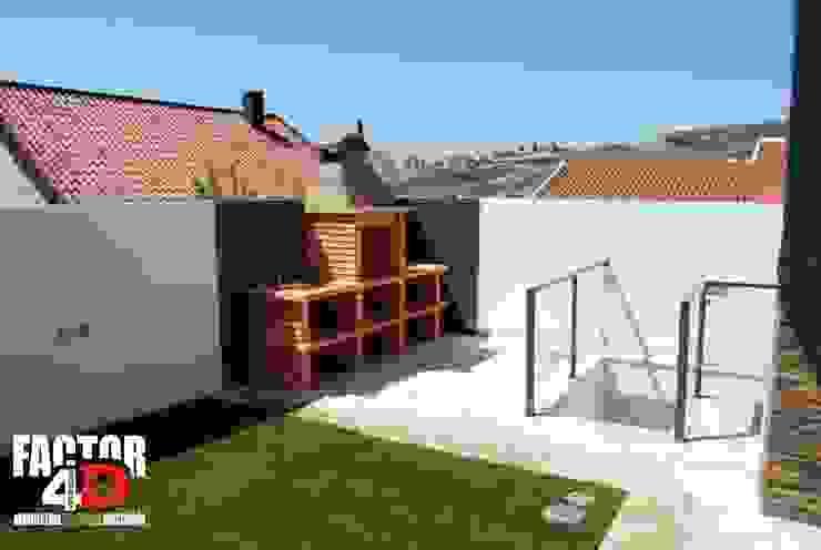 Modern balcony, veranda & terrace by Factor4D - Arquitetura, Engenharia & Construção Modern