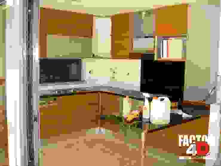 Factor4D - Arquitetura, Engenharia & Construção Dapur Modern