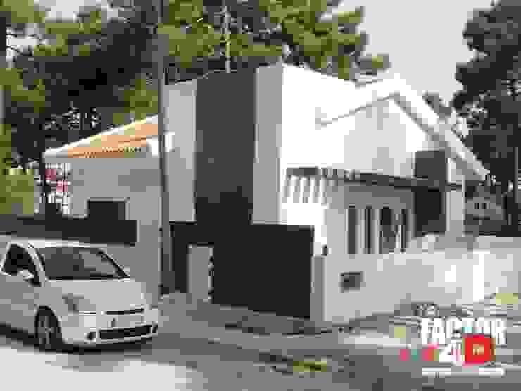 Exterior#001 Factor4D - Arquitetura, Engenharia & Construção Moradias