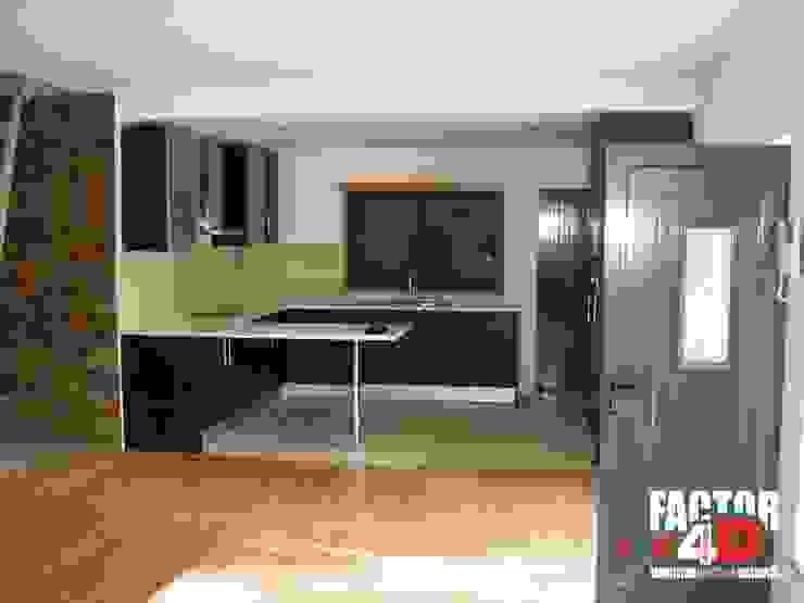 Factor4D - Arquitetura, Engenharia & Construção Modern kitchen