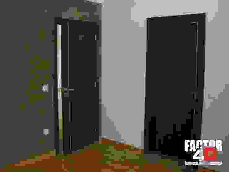 Factor4D - Arquitetura, Engenharia & Construção Modern style doors