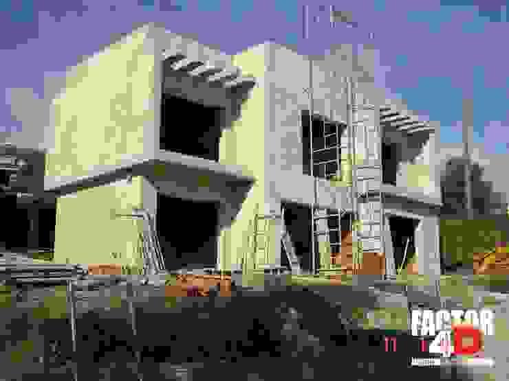 Exterior#005 Factor4D - Arquitetura, Engenharia & Construção Moradias