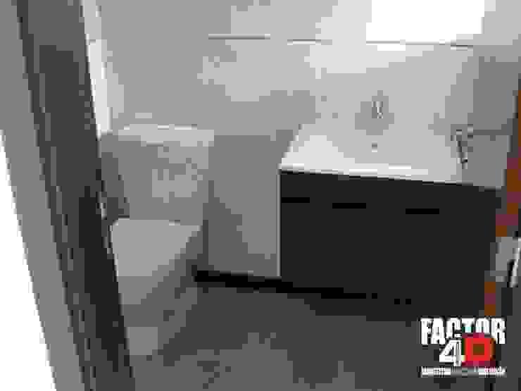 Baños modernos de Factor4D - Arquitetura, Engenharia & Construção Moderno