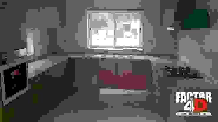 Factor4D - Arquitetura, Engenharia & Construção Classic style kitchen
