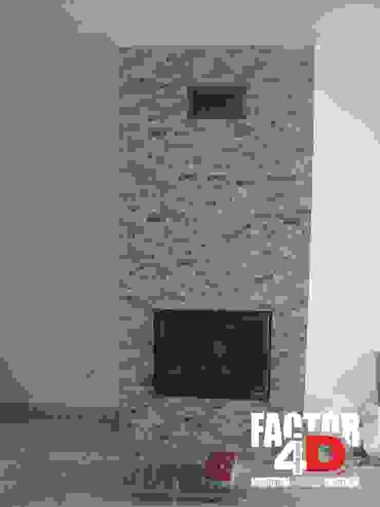 Factor4D - Arquitetura, Engenharia & Construção Ruang Keluarga Klasik