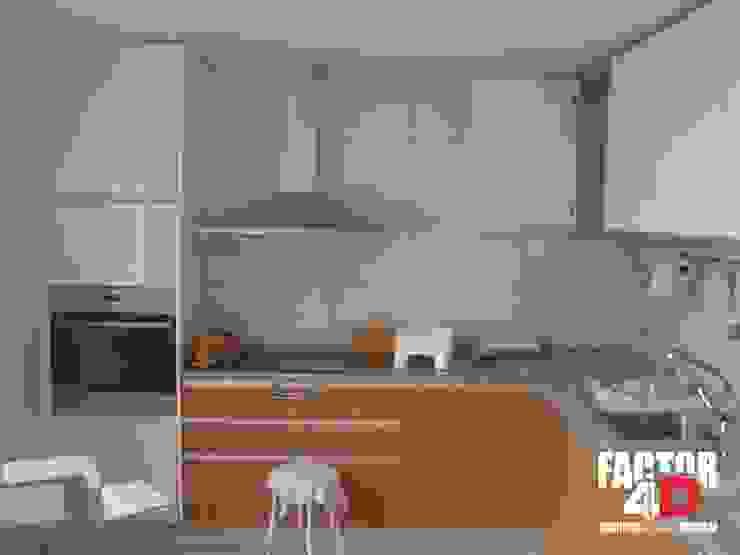 Factor4D - Arquitetura, Engenharia & Construção Dapur Klasik