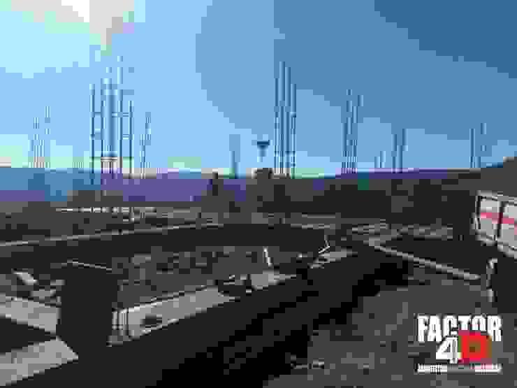 Exterior#004 Factor4D - Arquitetura, Engenharia & Construção Moradias
