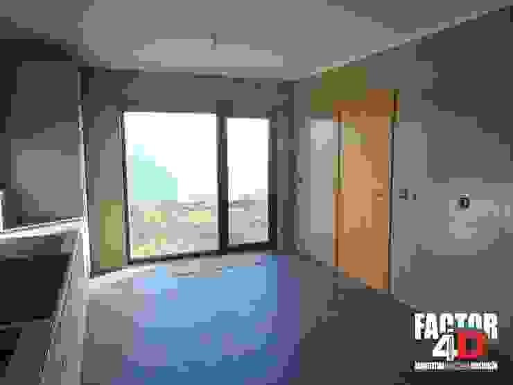 Modern kitchen by Factor4D - Arquitetura, Engenharia & Construção Modern