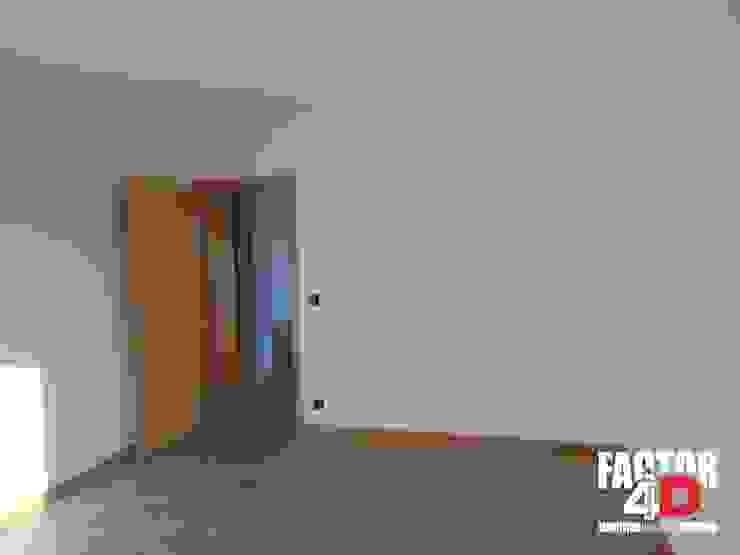 Modern style bedroom by Factor4D - Arquitetura, Engenharia & Construção Modern