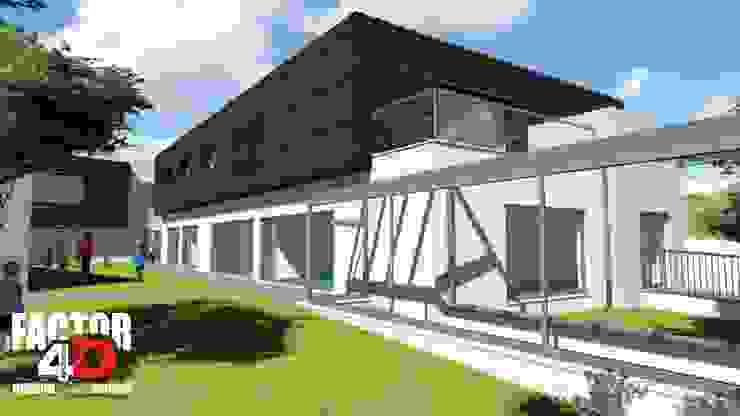 Factor4D - Arquitetura, Engenharia & Construção Rumah Modern