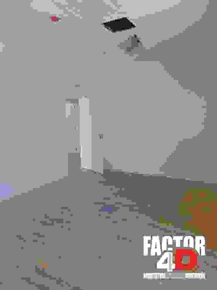 Modern study/office by Factor4D - Arquitetura, Engenharia & Construção Modern