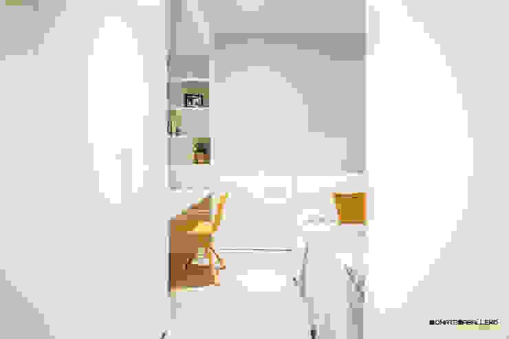 DonateCaballero Arquitectos Minimalist bedroom