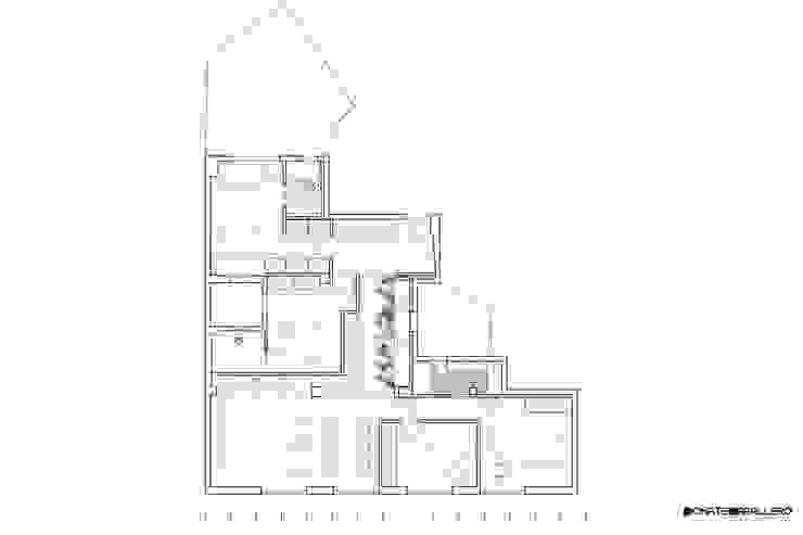 DonateCaballero Arquitectos Scandinavian style walls & floors