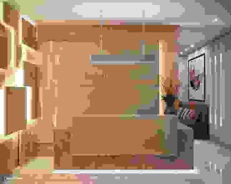 de Camila Pimenta   Arquitetura + Interiores Moderno Mármol