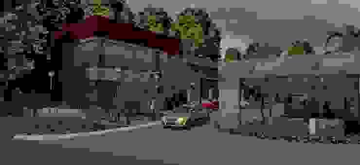 Vista resto. Bares y clubs de estilo moderno de MOLEarquitectura Moderno Cuarzo