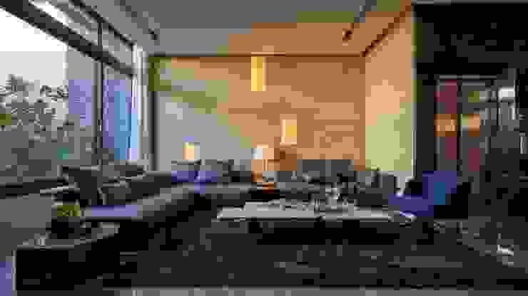 客廳 Modern living room by 澤序空間設計有限公司 Modern Marble