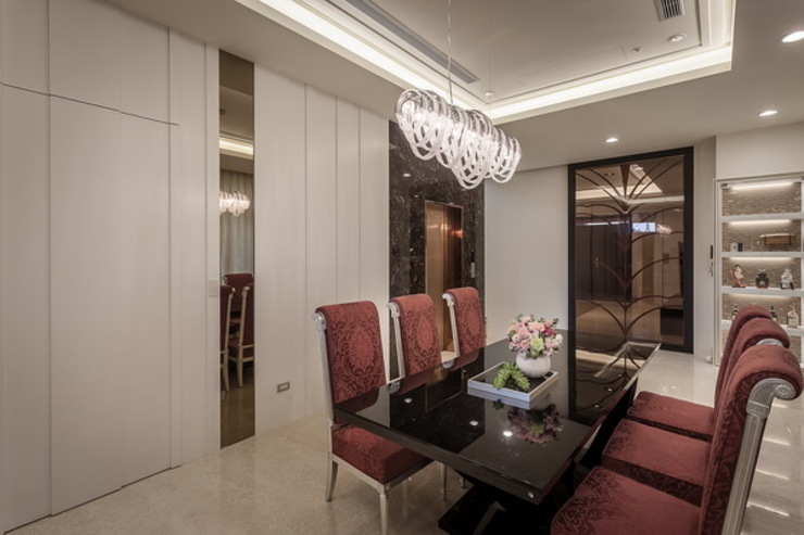 餐廳 根據 澤序空間設計有限公司 古典風